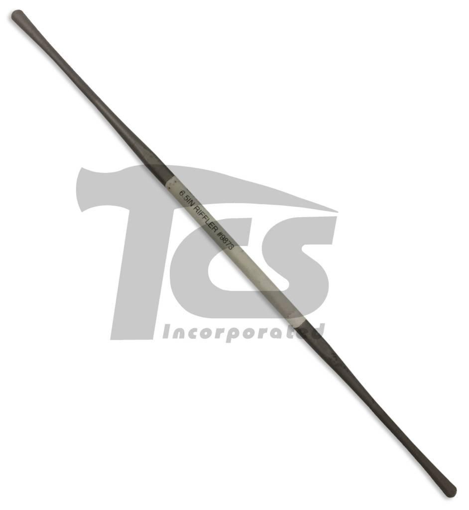 "Swiss/English Steel Riffler #9873 6"""