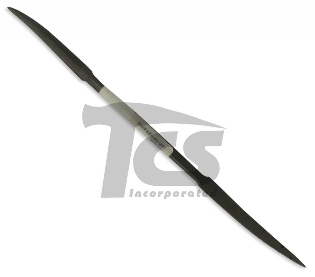 "Swiss/English Steel Riffler #7576 7"""