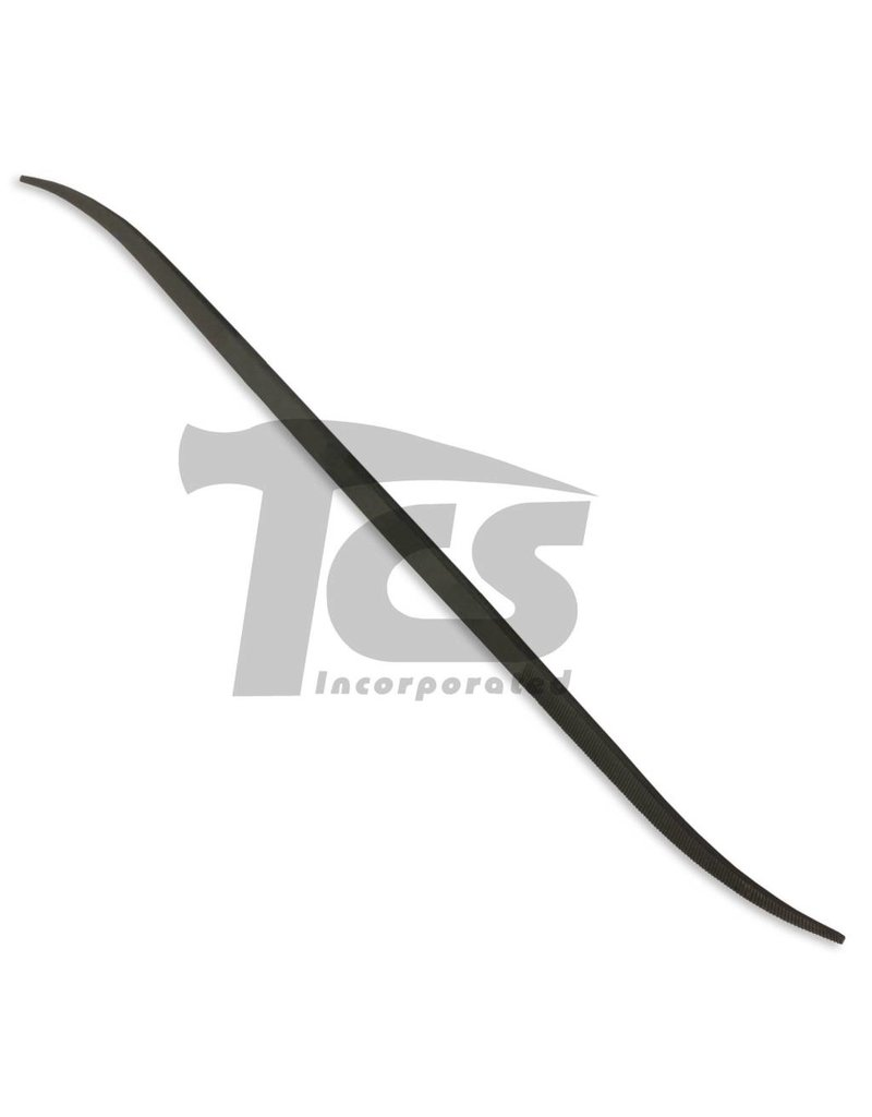 Just Sculpt Swiss/English Steel Riffler #7620 7""