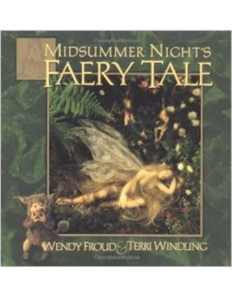Just Sculpt A Midsummer Night's Faery Tale Book