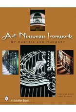 Schiffer Publishing Art Nouveau Iron Work Santi & Gacher Book