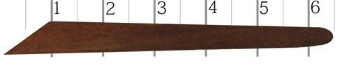 Hardwood Clay Tool #239