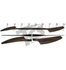 Milani Italian Steel Serrated Wax Tool #A026