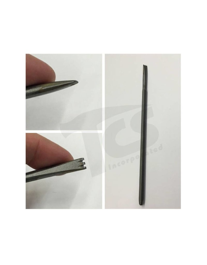 Milani Milani Carbide Hand 3 Tooth 6mm
