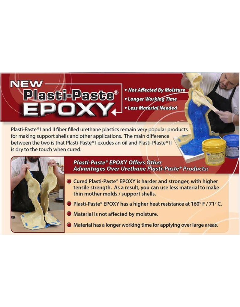 Smooth-On Plasti-Paste Epoxy Gallon Kit