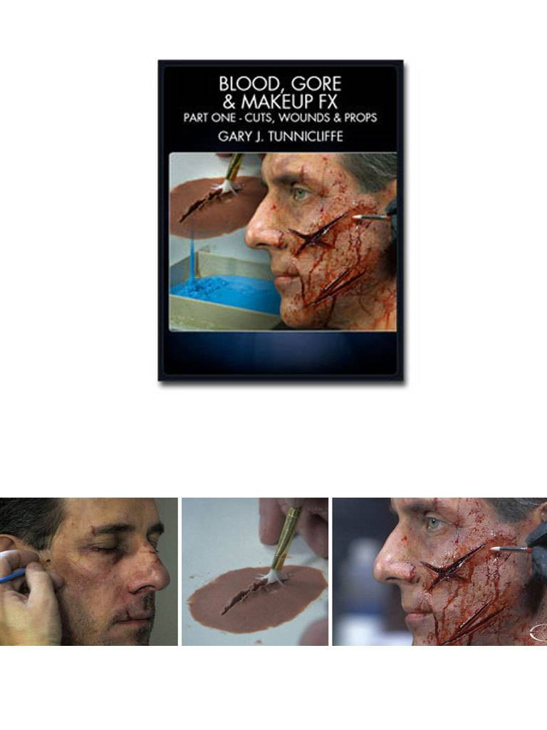 Bloodgoremakeup Fx Part 1 Tunnicliffe Dvd The Compleat Sculptor - Gore-makeup