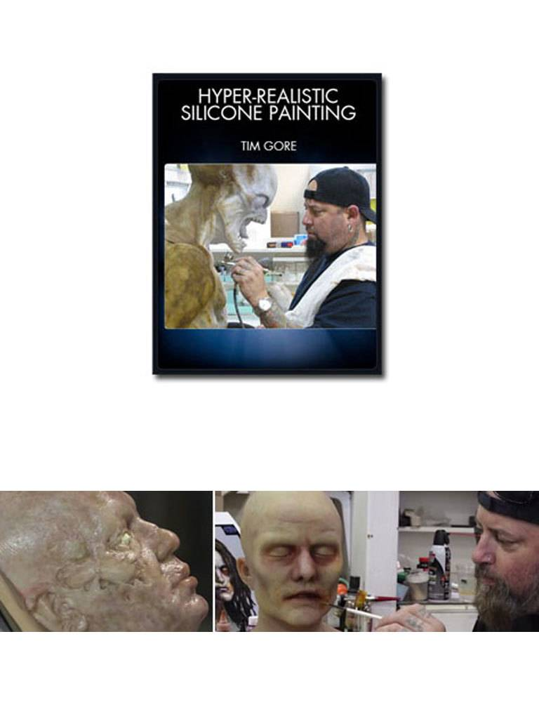 Stan Winston Hyper-Realistic Silicone Painting Tim Gore DVD