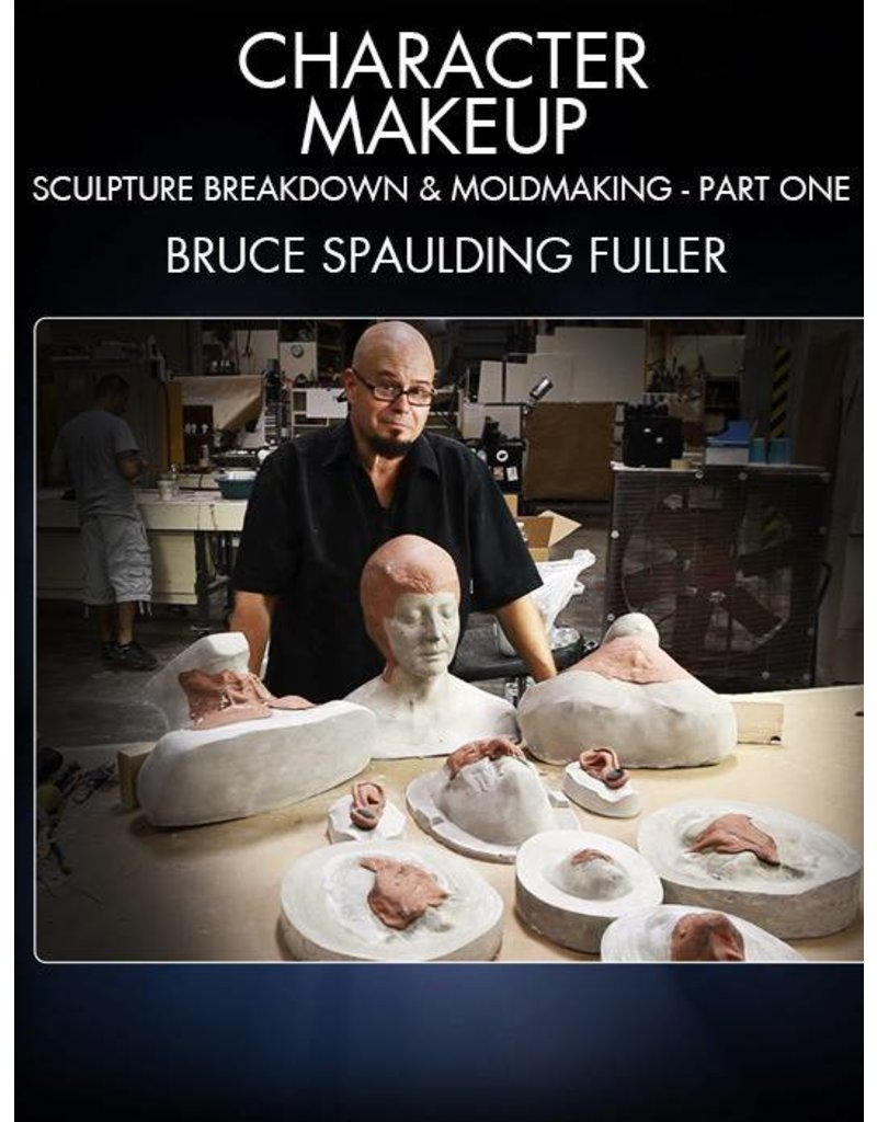 Stan Winston Character Makeup, Sculpture Breakdown and Moldmaking Part 1 Fuller DVD