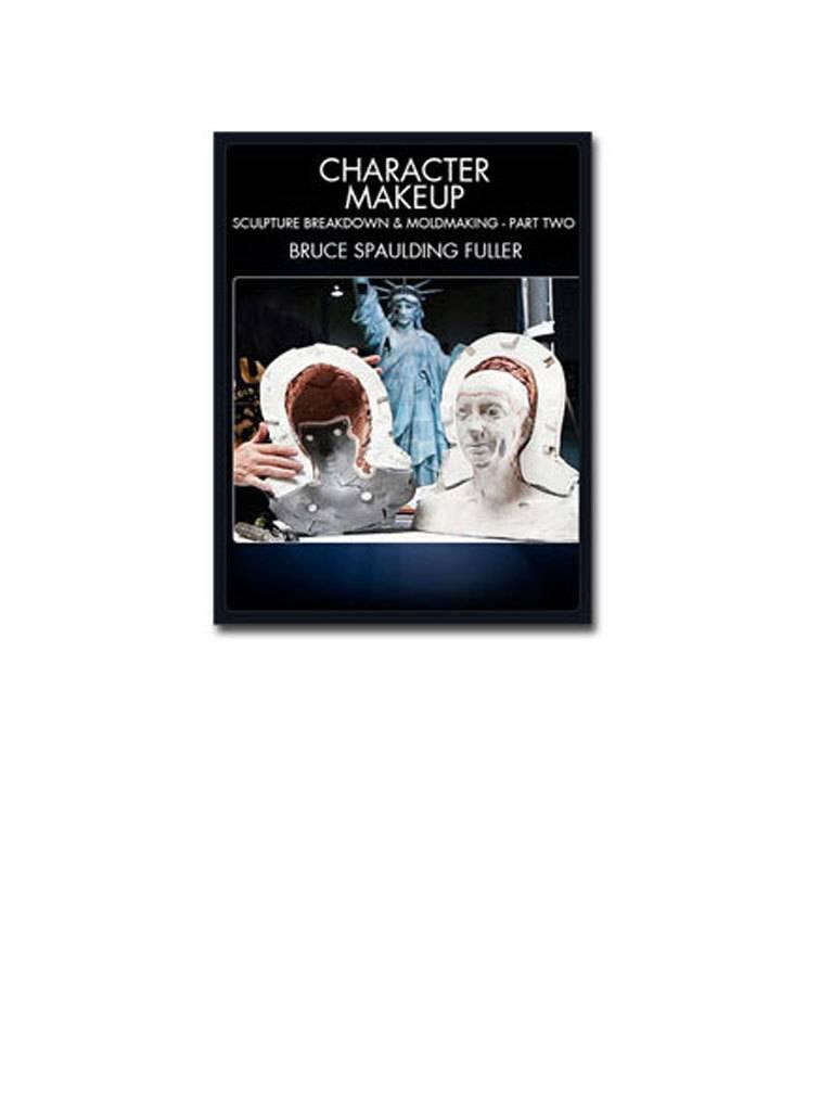 Stan Winston Character Makeup, Sculpture Breakdown and Moldmaking Part 2 Fuller DVD