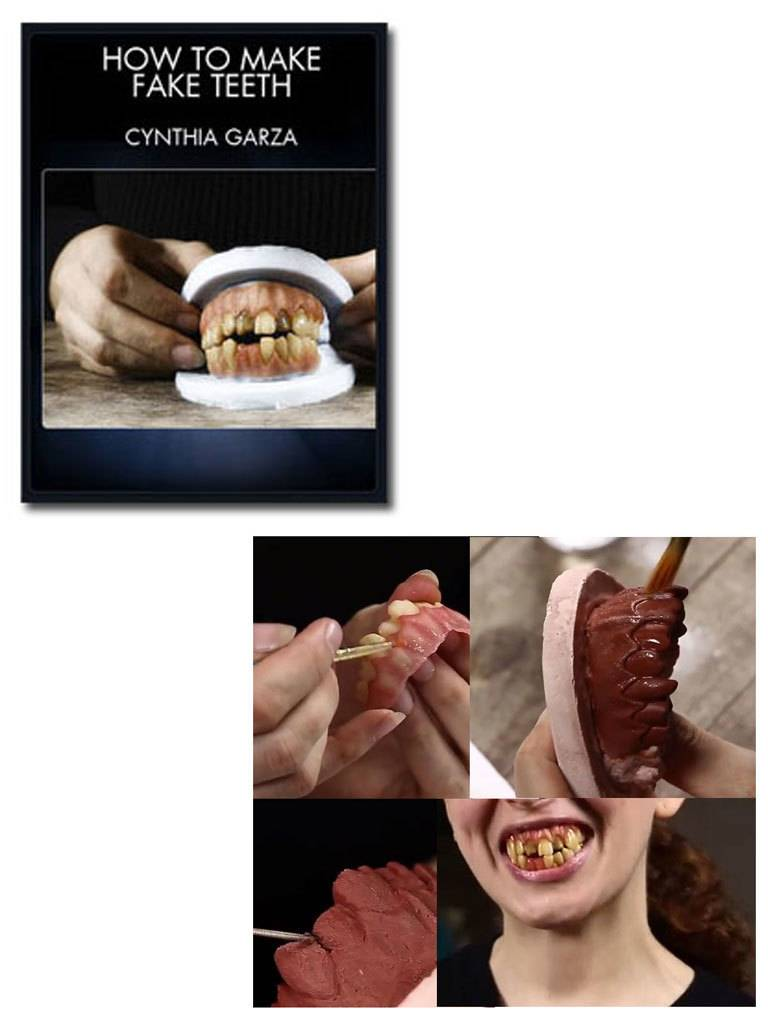 Stan Winston How To Make Fake Teeth Garza DVD