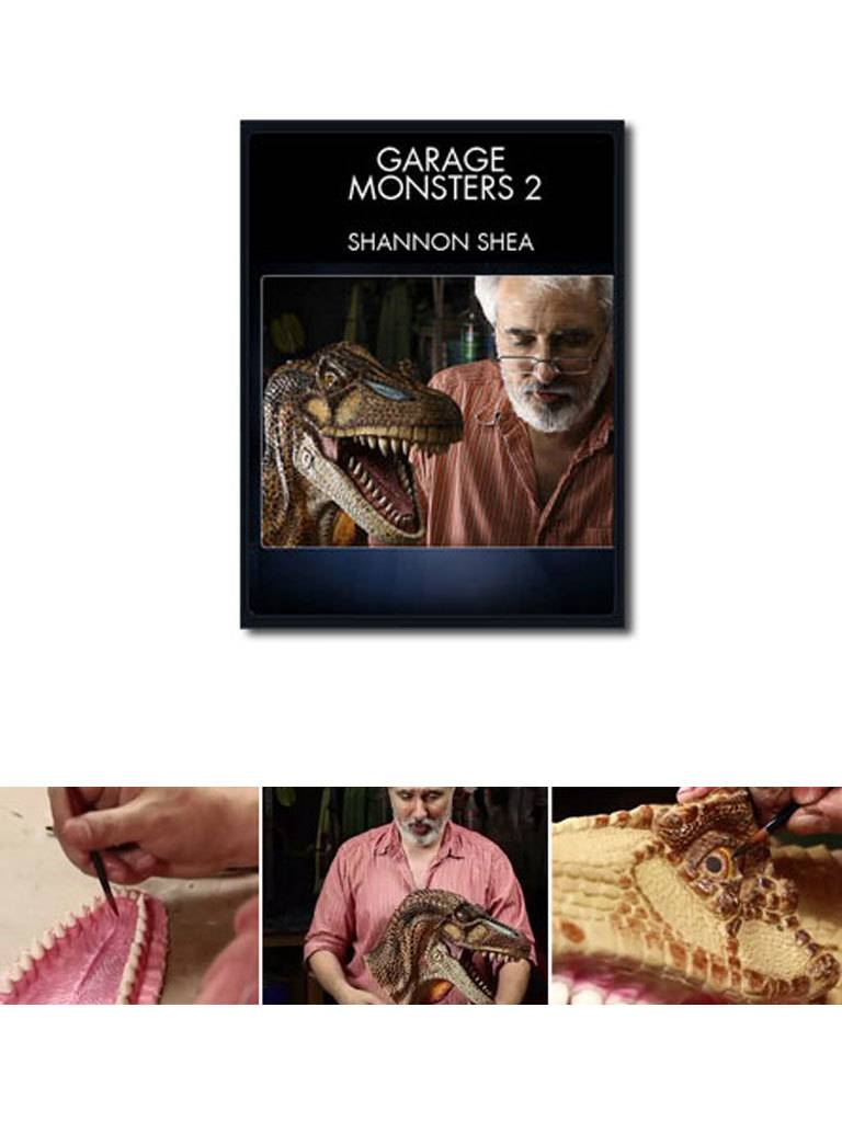 Stan Winston Garage Monsters Part 2 - How to Make Creature FX on a Budget Shea DVD