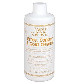 Jax Chemical Company Jax Brass, Copper & Gold Cleaner Pint