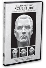 PCF Studio Faraut DVD #4: Techniques of Sculpture: Geometry in the Clay Portrait