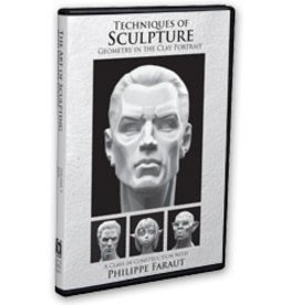PCF Studio Faraut DVD #4: Techniques of Sculpture: Geometry in the Clay Portrait