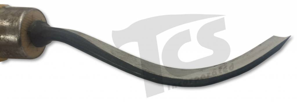 #1/#21 Longbend Flat Wood Chisel 1-1/2'' (38mm)