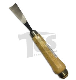 "#4 Straight Wood Gouge 1-1/4"" (32mm)"
