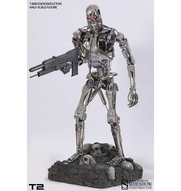 Sideshow Collectables Sideshow Exclusive Terminator T2 T-800 Endoskeleton 1:2 Scale statue