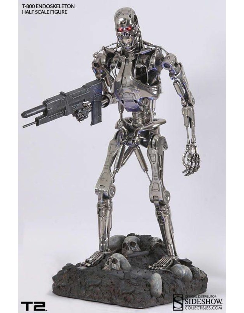 Sideshow Collectibles Sideshow Exclusive Terminator T2 T-800 Endoskeleton 1:2 Scale statue