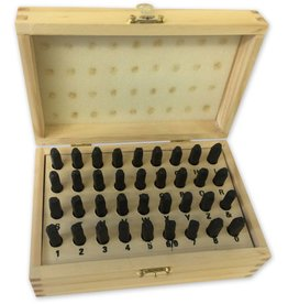 """4mm (5/32"""") Number And Letter Punch Set"""