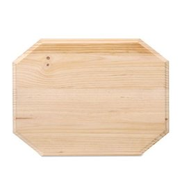 Wood Plaque - Octagon - 9 x 12 inches