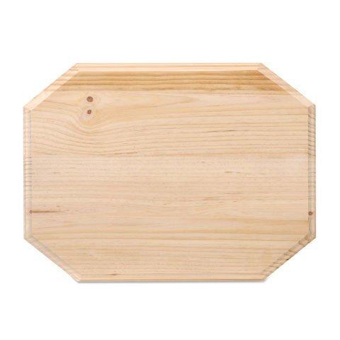 Just Sculpt Wood Plaque - Octagon - 9 x 12 inches