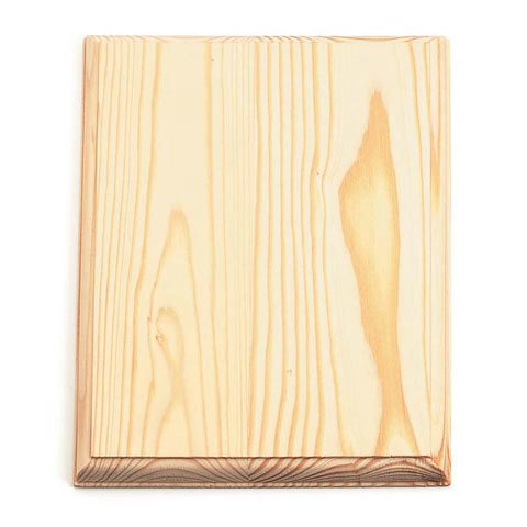 Wood Plaque - Rectangle - 7 x 9 inches