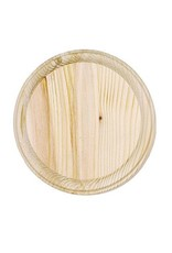 Wood Plaque - Round - 7 inch diameter
