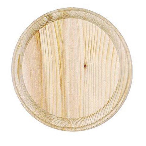 Just Sculpt Wood Plaque - Round - 7 inch diameter