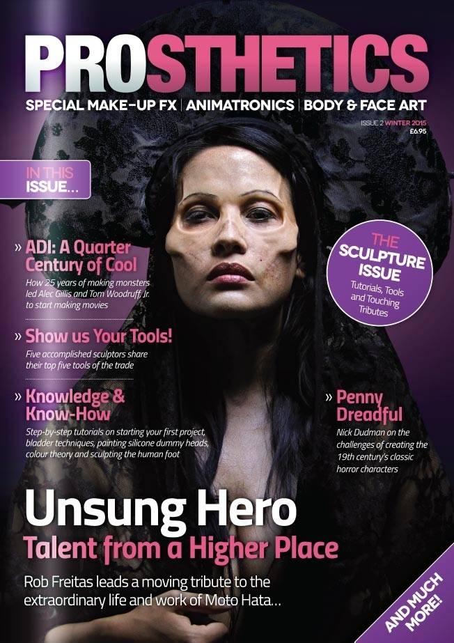 Gorton Studios Prosthetics Magazine #2
