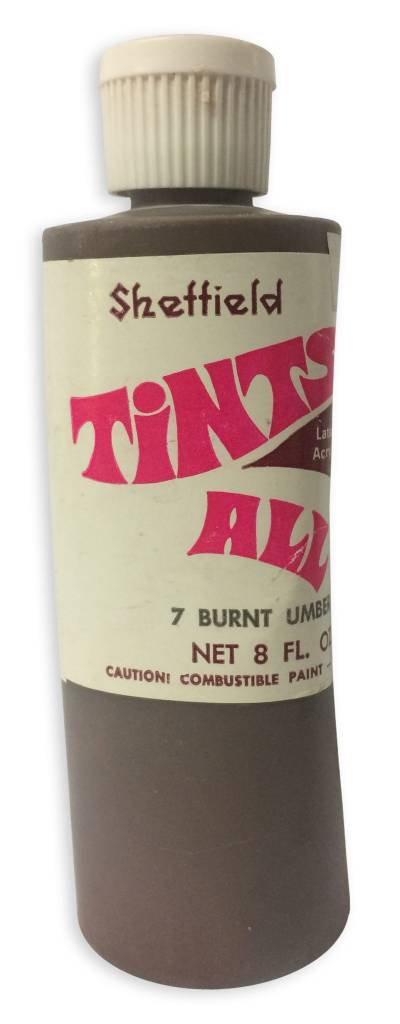 Tintsall Tints-All Burnt Umber #7 (8oz)
