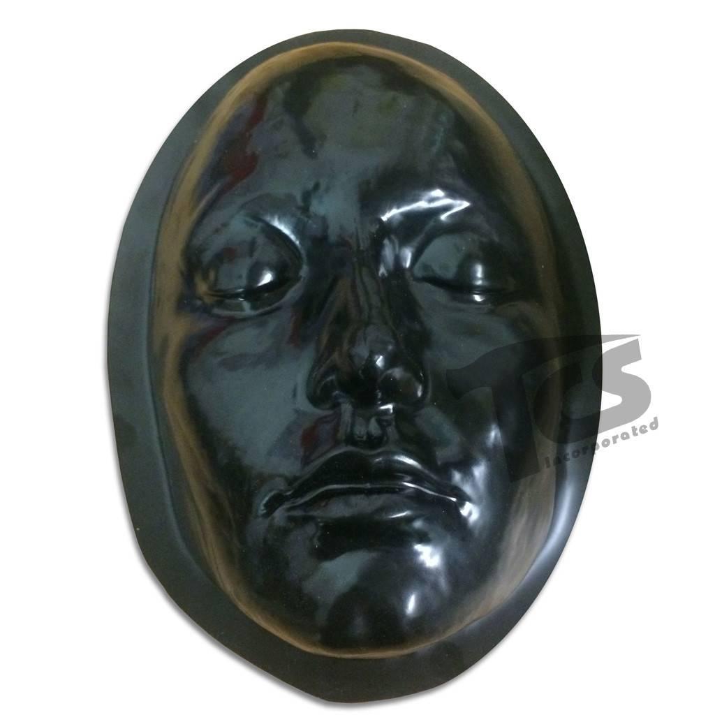 Just Sculpt Black Styrene Female Face Form For Prosthetics