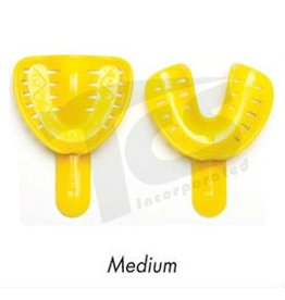 Dental Trays Medium Yellow (Set of 2)