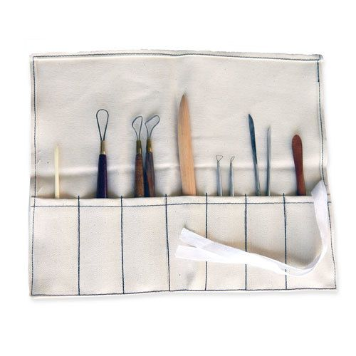 Sculpture House Artists Choice Clay Modeling Tool Kit (10pcs)