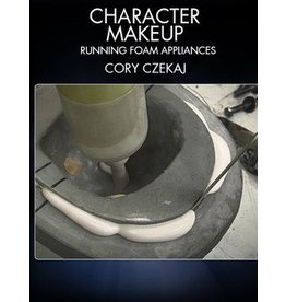 Stan Winston Character Makeup Running Foam Applainces Czekaj DVD