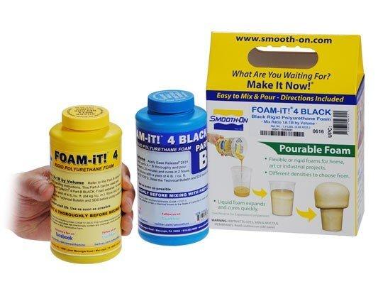 Smooth-On Foam-iT 4 Black Trial Kit (2lbs)