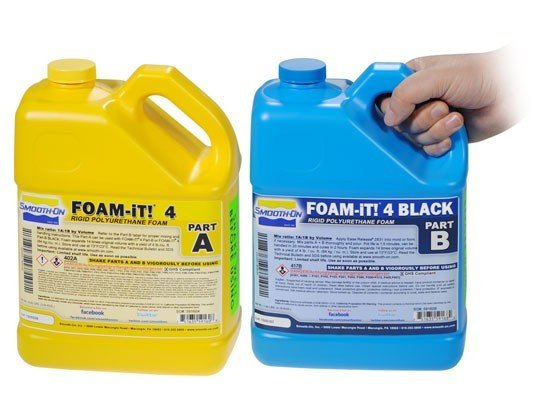 Smooth-On Foam-iT 4 Black (2 Gallon Kit 15lbs)