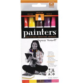 Elmers Bright Colors Fine Point Painters Markers 5 Color Set