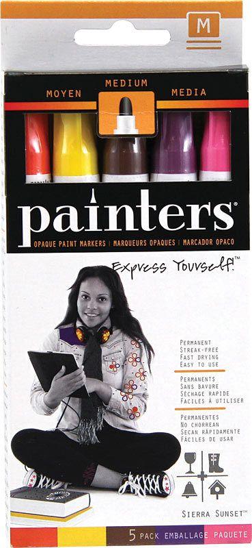 Elmers Bright Colors Fine Point Painters Markers 5 Color Set