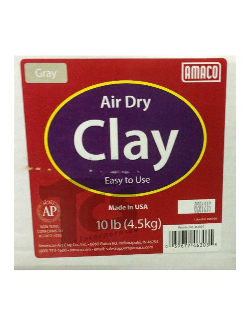Amaco Amaco Gray Air Dry Clay 10 lb.