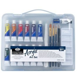 Royal & Langnickel Royal & Langnickel Acrylic Painting Set - 21 pieces