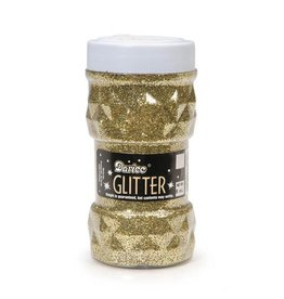 Darice Glitter Jar - Gold - 8oz