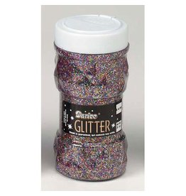 Darice Glitter Jar - Multi Colored - 8 oz