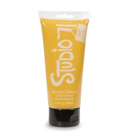 Studio 71 Acrylic Paint - Yellow Ochre - 200ml / 6.75 fl oz