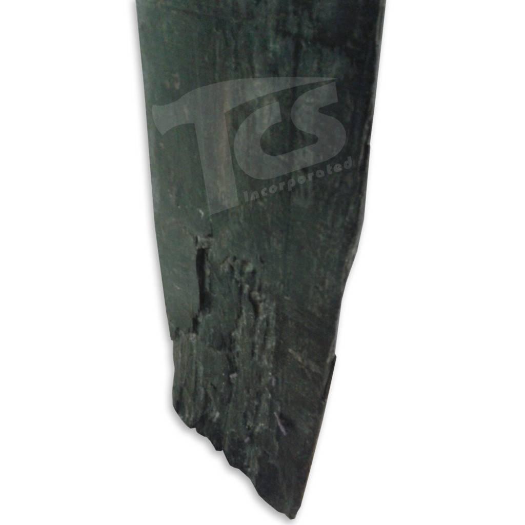 """Wood Ebony Gaboon Log 46""""x6""""x3"""" #15350"""