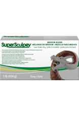 Polyform Super Sculpey Gray Medium 1lb