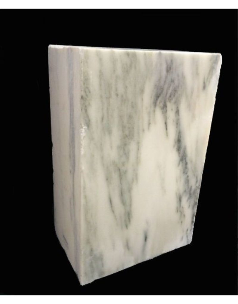 Stone 200lb Danby White Veined Marble 20x13x8 #431003