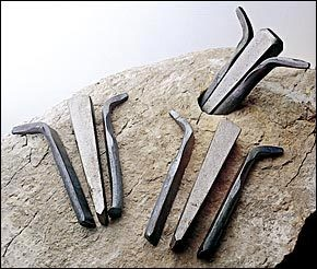 Trow & Holden Feather And Wedge 1/2'' (Set of 5)