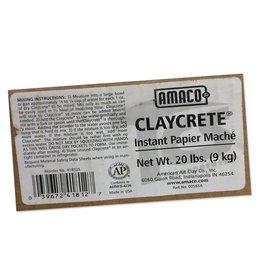 Amaco Claycrete Instant Papier Mache 20lbs