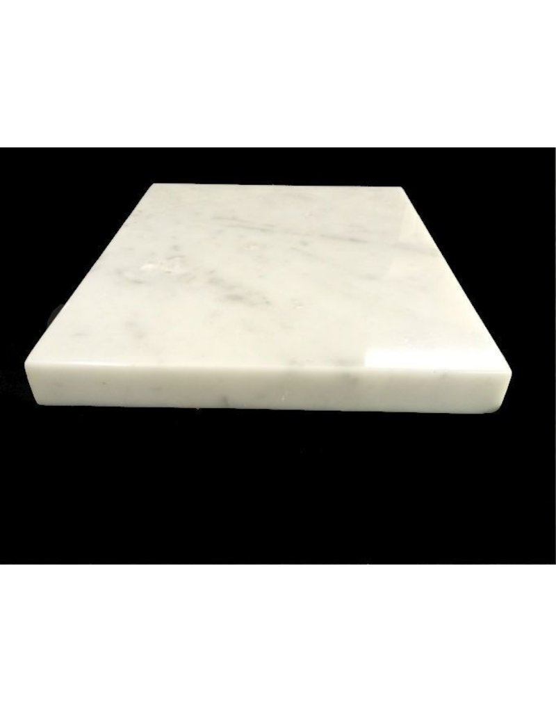 Just Sculpt Marble Base 12x10x1 White Carrara #991007