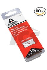 Just Sculpt Steel Back Single Edge Razor Blades (100pack)